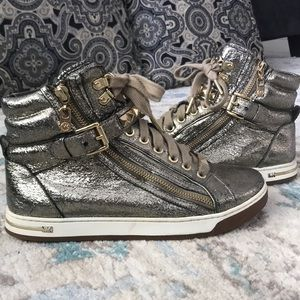 Micheal Kora Metallic High Tops